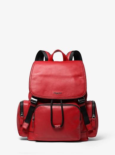 943de55d350832 Henry Leather Backpack | Michael Kors