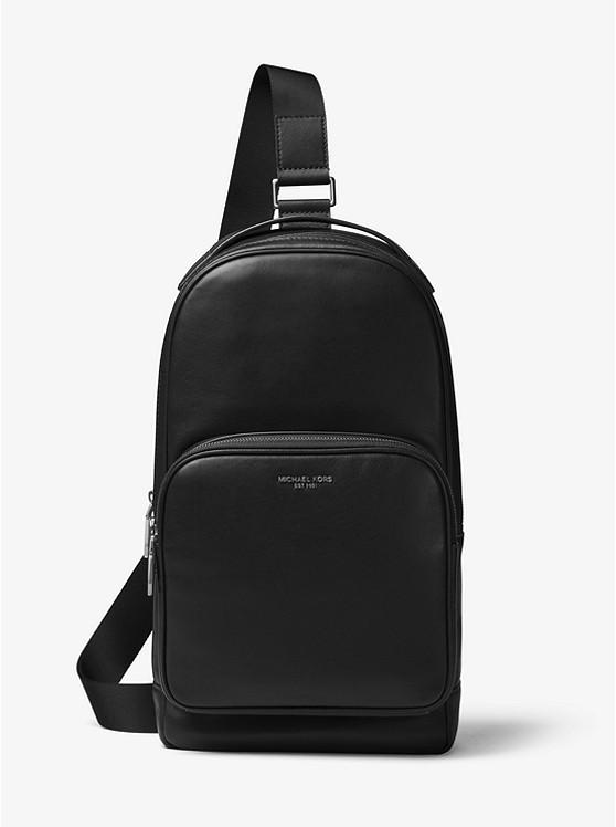 82093af1562511 Henry Leather Sling Pack | Michael Kors