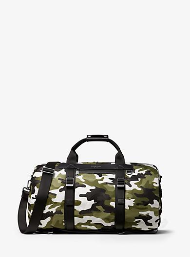 437f60039549 Kent Camouflage Nylon Convertible Duffel Bag. michael kors mens ...