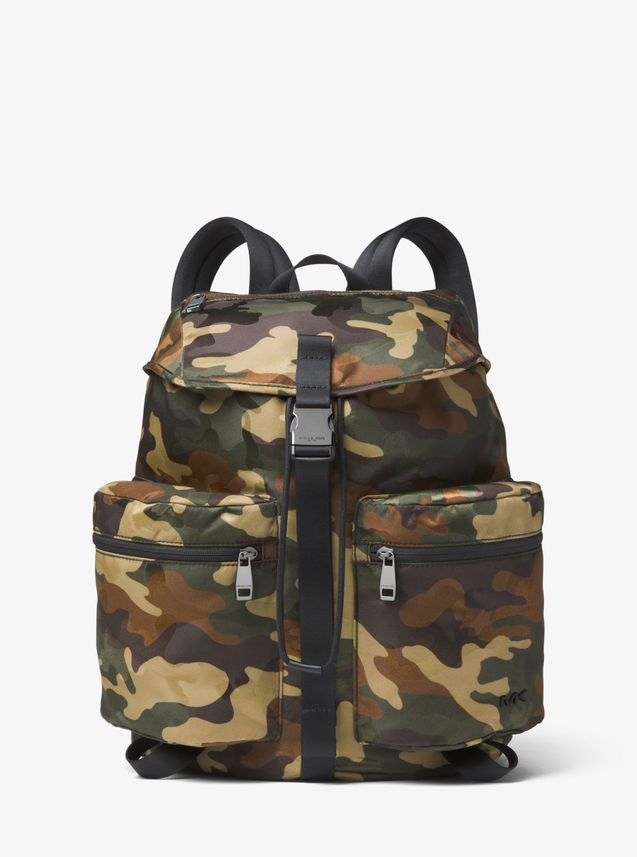 12b9b14b6509 Kent Camouflage Nylon Drawstring Backpack