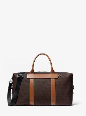 마이클 코어스 더플백 Michael Kors Greyson Logo Duffle Bag,BROWN/LUGGAGE