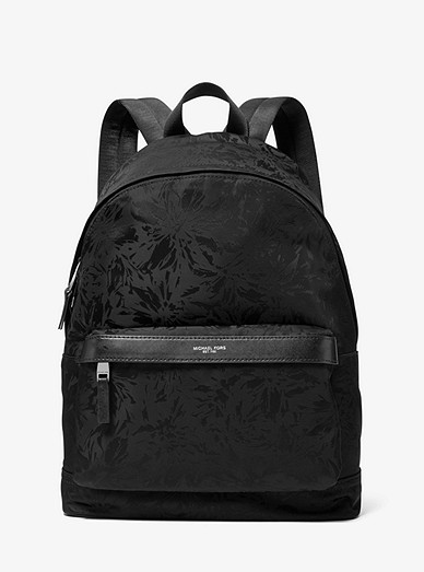 676ee765fa7a Kent Floral Nylon Jacquard Backpack
