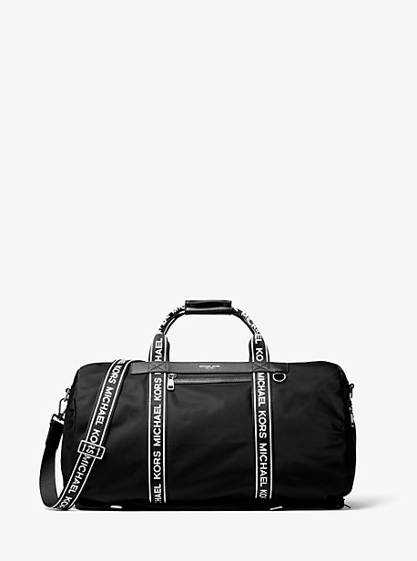 4c2d82da9e07 Kent Logo Tape Nylon Convertible Duffel Bag · michael kors mens ...