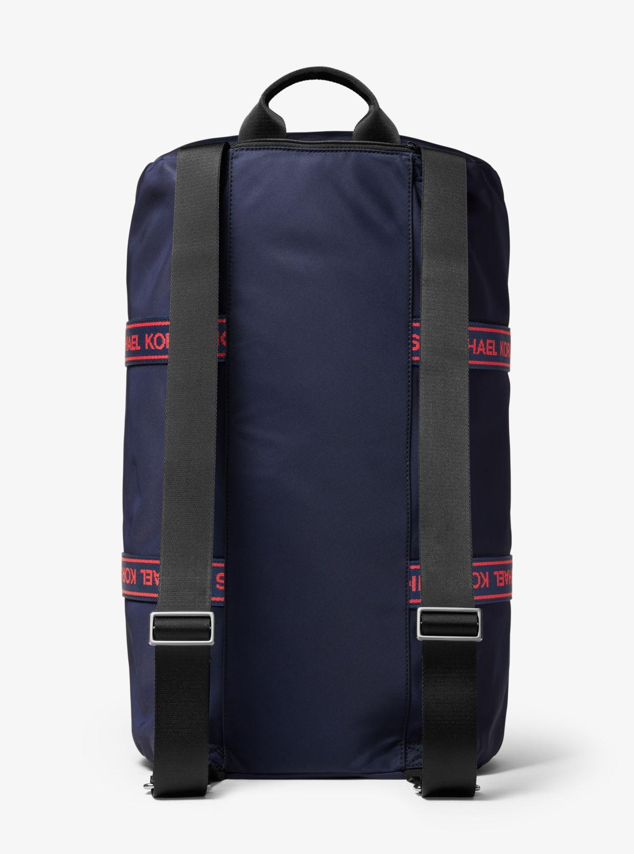 cba7a89ee3 Borsone Kent Convertibile In Nylon Con Fettuccia Con Logo | Michael Kors