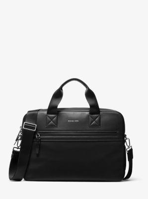 마이클 코어스 맨 브루클린 서류가방 Michael Kors Brooklyn Nylon Briefcase,BLACK