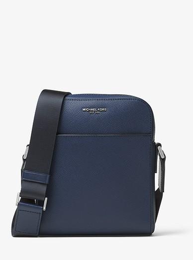 37e0f2c2ddf4 Harrison Leather Flight Bag | Michael Kors