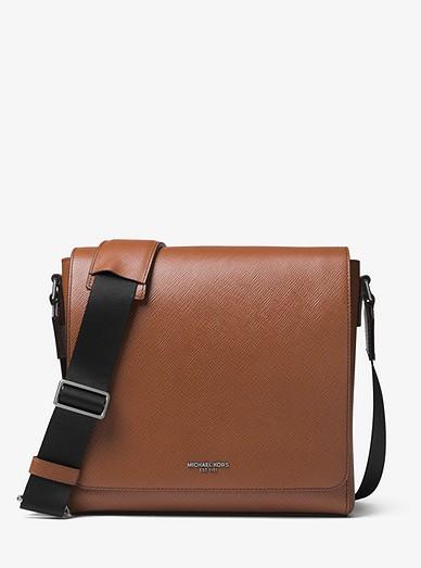 49c4a696cf42 Harrison Medium Leather Messenger Bag