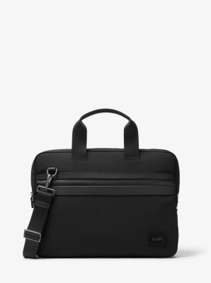 kent nylon-blend briefcase | michael kors