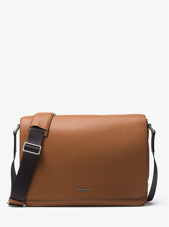 Bryant Large Leather Messenger