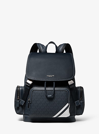 698f2f395a32 Henry Leather and Logo Backpack. michael kors mens ...