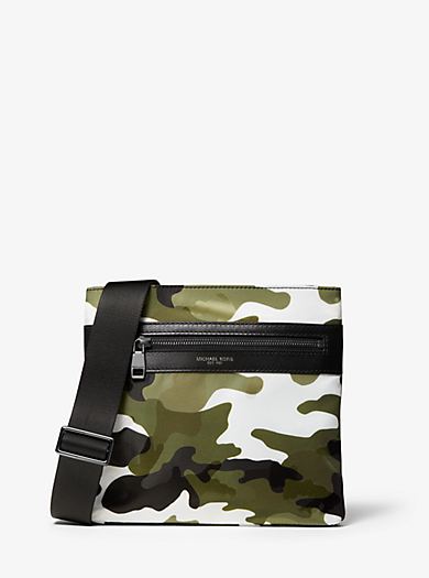 1610f88ced65 Kent Small Camouflage Nylon Crossbody. michael kors mens · Kent Small  Camouflage Nylon Crossbody