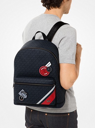 83b8ac1d3e40ba Jet Set Embroidered Logo Backpack. Jet Set Embroidered Logo Backpack. Michael  Kors Mens