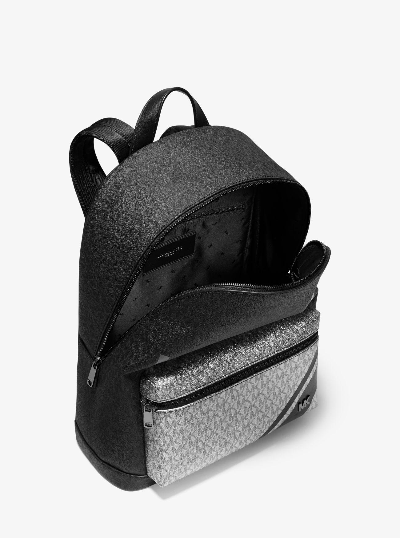 9c55875569dd99 Jet Set Color-block Logo Backpack   Michael Kors