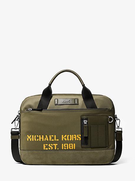 1531f25d44d0 Greyson Slim Nylon Briefcase · michael kors mens ...
