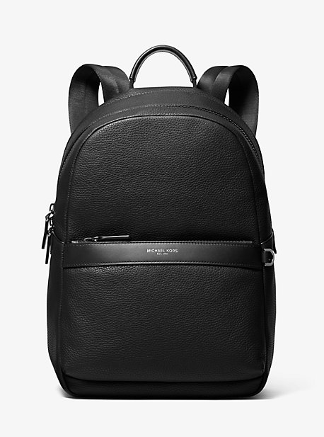 6d10e328678d Greyson Pebbled Leather Backpack. michael kors mens · Greyson Pebbled  Leather Backpack ·  398.00 398.00