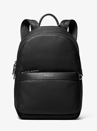Greyson Pebbled Leather Backpack | Michael Kors