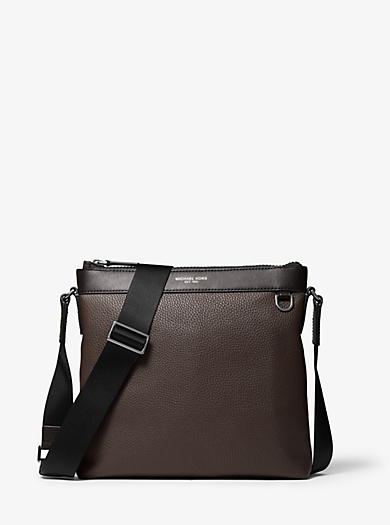 daf7ceb2731b8 Greyson Pebbled Leather Messenger Bag. michael kors ...