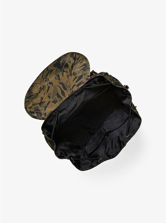 0ce1b4e1b9dc ... Kent Camouflage Palm-Print Nylon Backpack ...