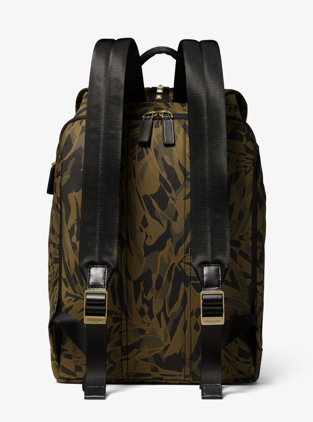c7f483a00eaf ... Kent Camouflage Palm-Print Nylon Backpack ...