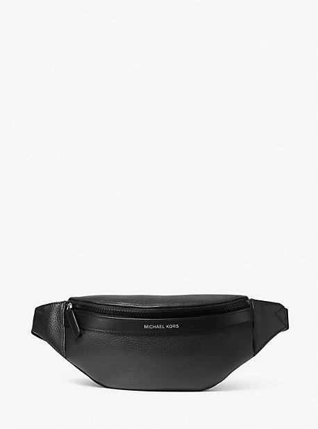 마이클 코어스 맨 슬링팩 Michael Kors Greyson Pebbled Leather Sling Pack