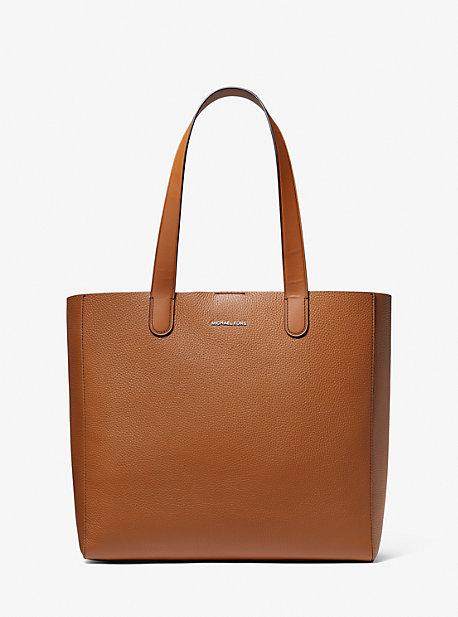 마이클 코어스 맨 토트백 Michael Kors Hudson Pebbled Leather Tote Bag