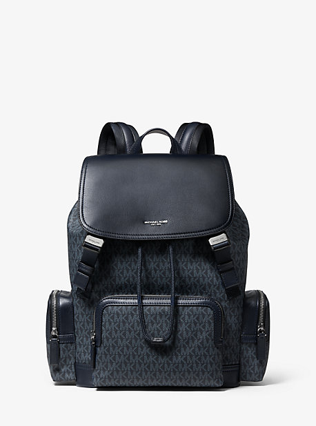 215002793843 Henry Logo and Leather Backpack