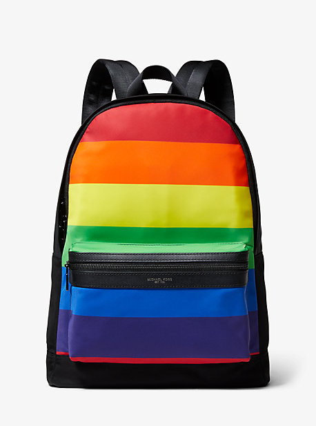 859d5ba9d6 Kent Rainbow Stripe Nylon Backpack · michael kors mens · Kent Rainbow ...