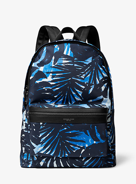 0cd1b2f4f001 Kent Palm Print Nylon Backpack. michael kors mens ...