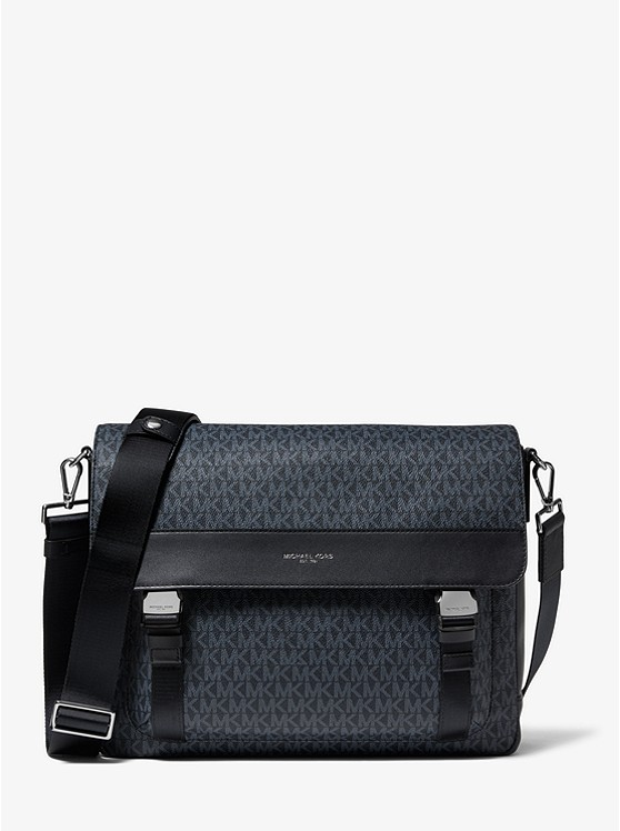 Greyson Logo Messenger Bag by Michael Kors Mens