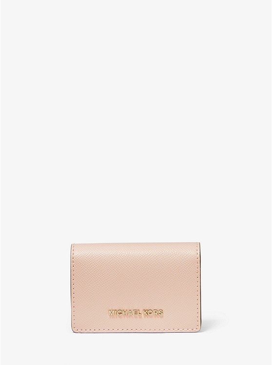 Small Crossgrain Leather Wallet | Michael Kors