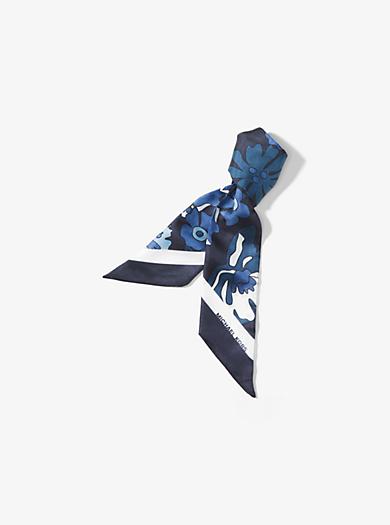 プリンテッド スカーフ