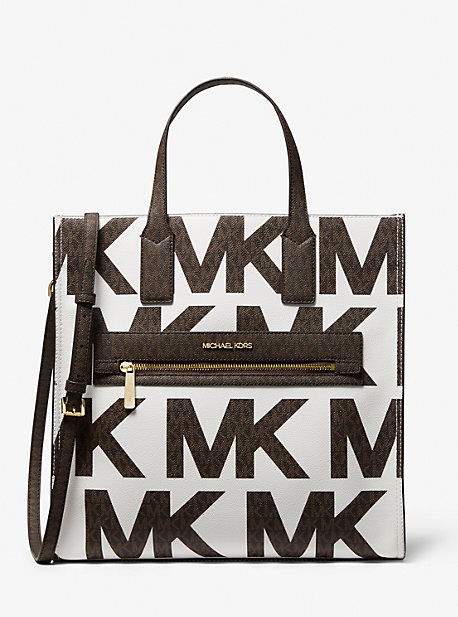 마이클 마이클 코어스 토트백 Michael Michael Kors Kenly Large Graphic Logo Tote Bag