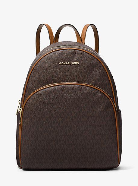 da57003f8e4d Abbey Large Logo Backpack   Michael Kors