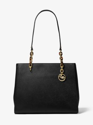 e1e048dc23b6 Sofia Large Saffiano Leather Tote