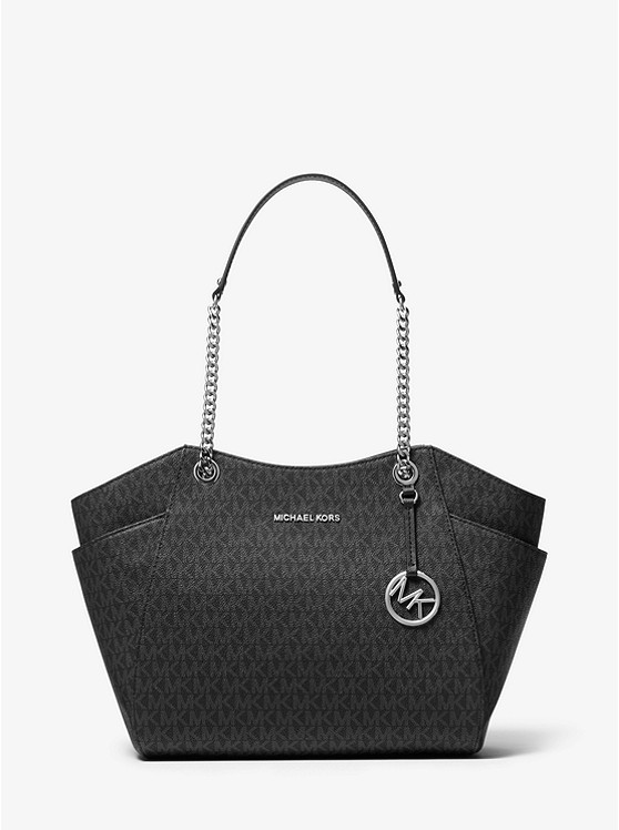 Jet Set Large Logo Tote Bag by Michael Michael Kors