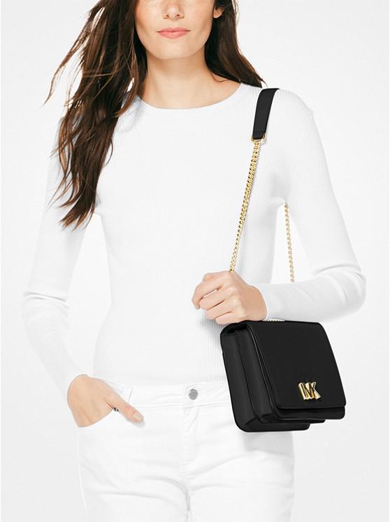 Mott Large Leather Shoulder Bag