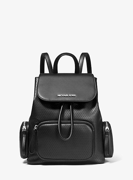 마이클 마이클 코어스 백팩 미디움 Michael Michael Kors Abbey Medium Perforated Backpack,BLACK