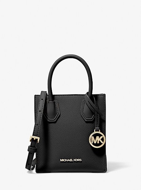 Mercer Extra-Small Pebbled Leather Crossbody Bag