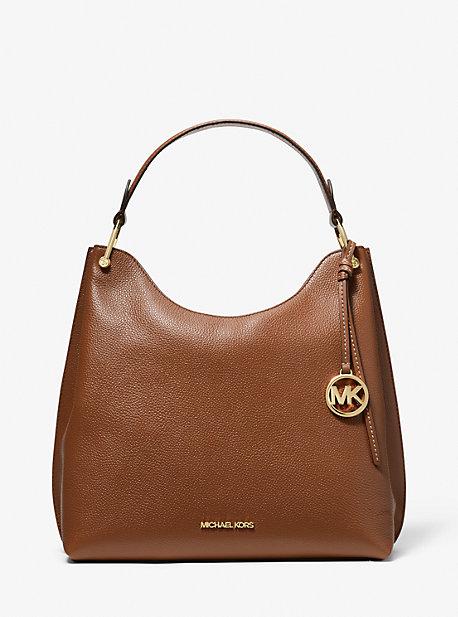 마이클 마이클 코어스 Michael Michael Kors Joan Large Pebbled Leather Shoulder Bag