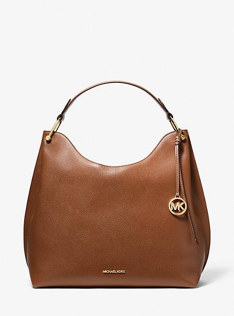 마이클 마이클 코어스 Michael Michael Kors Joan Extra-Large Pebbled Leather Shoulder Bag