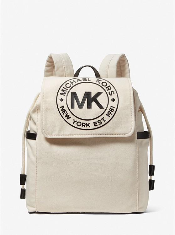 Michael Kors Fulton Sport Medium Cotton Backpack