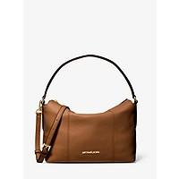 Deals on Michael Kors Brooke Medium Pebbled Leather Shoulder Bag