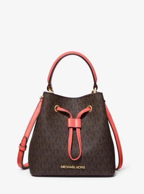 마이클 마이클 코어스 Michael Michael Kors Suri Small Logo Crossbody Bag,GRAPEFRUIT