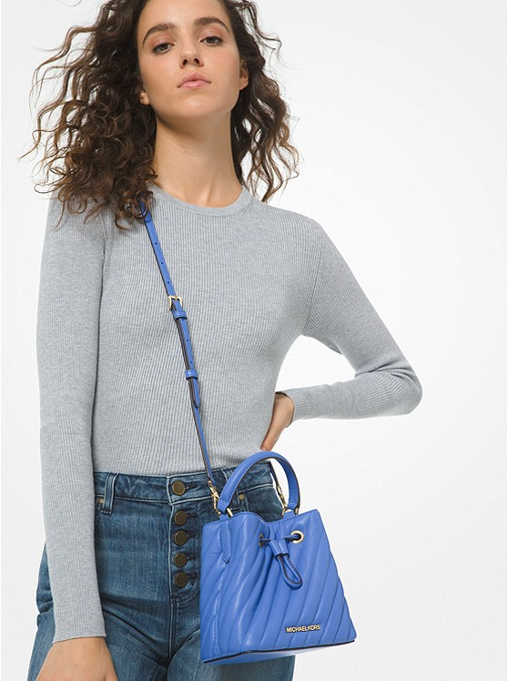 Suri Small Quilted Crossbody Bag