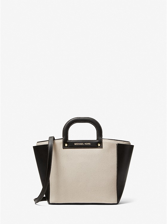 Michael Kors Clara Small Cotton Tote Bag