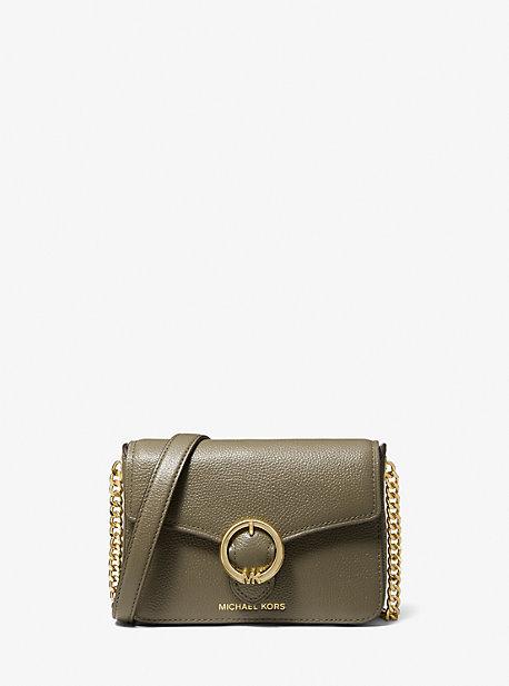 Wanda Small Pebbled Leather Crossbody Bag