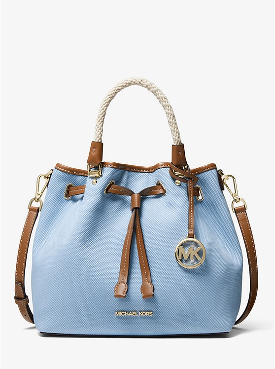 Blakely Large Canvas Bucket Bag