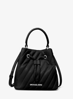 마이클 마이클 코어스 Michael Michael Kors Suri Small Quilted Crossbody Bag,BLACK