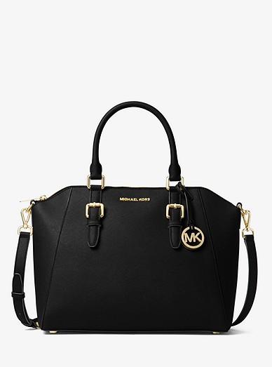 Ciara Large Saffiano Leather Satchel  eafe809bc