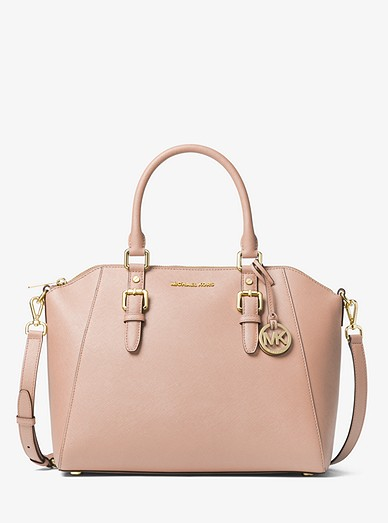 a80b1cadad50 Ciara Large Saffiano Leather Satchel